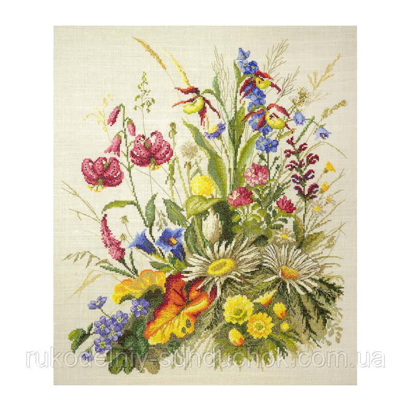 Набор для вышивания крестом ТМ Марья Искусница 06.002.27 Полевые краски