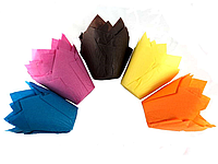 """Форма бумажная для выпечки """"Тюльпан"""" набор из 12 штук, арт. Фп-1"""