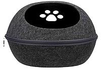 Trixie TX-36319 м'яке місце Liva Cat Cuddly 40 × 24 × 47 см (на змійці, брудовідштовхуючі ), фото 1