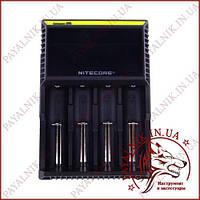 Універсальне інтелектуальний зарядний пристрій Nitecore D4 для різних типів акумуляторів, копія
