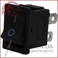 Переключатель KCD-1-104, ON-OFF 4-х контактный, 6A, 220V, чёрный