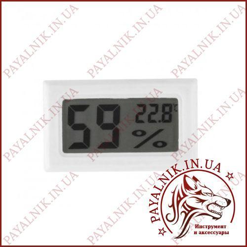 Термометр побутовий корпус з вимірюванням вологості з внутреним датчиком (27003)