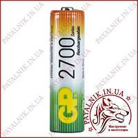 Аккумулятор GP Ni-MH AA HR6 1.2V 2600mAh (1шт.) 2700series