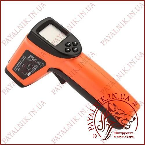 Термометр пирометр НЕ МЕДИЦИНСКИЙ DT8011H (-50°C +1100°C) (-58°F +2012°F)