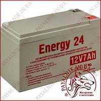 Акумуляторна батарея 12v 7ah свинцево-кислотна Energy 24