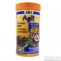Основной корм в форме палочек JBL Agil для водных черепах размером 10-50 см, 1 л