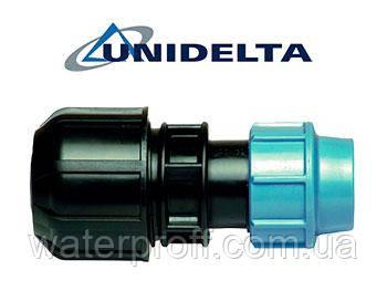 Муфта перехідна на метал 25х27/34 Unidelta