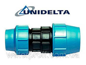 Муфта перехідна затискна 32х25 Unidelta, фото 2