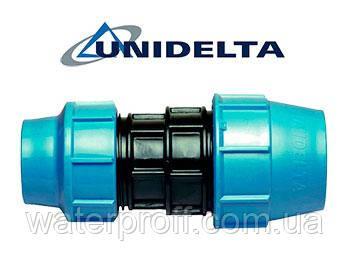 Муфта перехідна затискна 50х40 Unidelta
