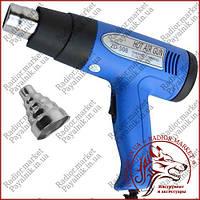 Термофен технический ZD-508, два режима: 750W 350°С и 1500W 500°С