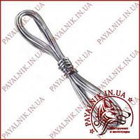 Припой с серебром 1 метр, диаметр 1мм Sn62Pb36Ag2