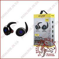 Навушники Awei T1 True Wireless бездротові блютуз