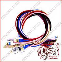 Кабель Micro USB 3 Ампера (разные цвета)