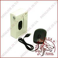 Мишка комп'ютерна оптична Logitech (В100) USB дротова, чорна