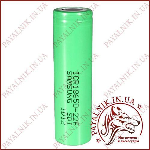 Літієвий акумулятор 18650 Samsung 2200mah