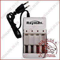 Зарядний пристрій RAYMAX RM115 для 4-х акумуляторів AA і AAA