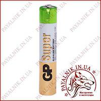 Батарейка Gp Super 1.5V LR61, AAAA, 25A-U2 alkaline