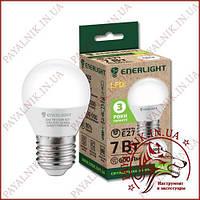 Лампа светодиодная ENERLIGHT G45 7W 4100K E27