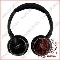 Наушники HEADPHONES Micro SD player, FM stereo radio