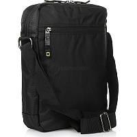 Мужская сумка National Geographic Trail Черный отд. д/планш+ RFID (N13406;06)
