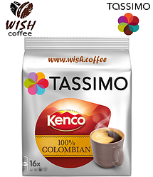 Кофе в капсулах Тассимо - Tassimo Kenco 100% Colombian (16 порций)