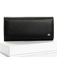 Жіночий великий гаманець з натуральної шкіри DR. BOND різні кольори в коробці