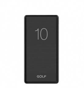 Внешний аккумулятор (Повербанк) Golf G80 10000 mAh Black, фото 2