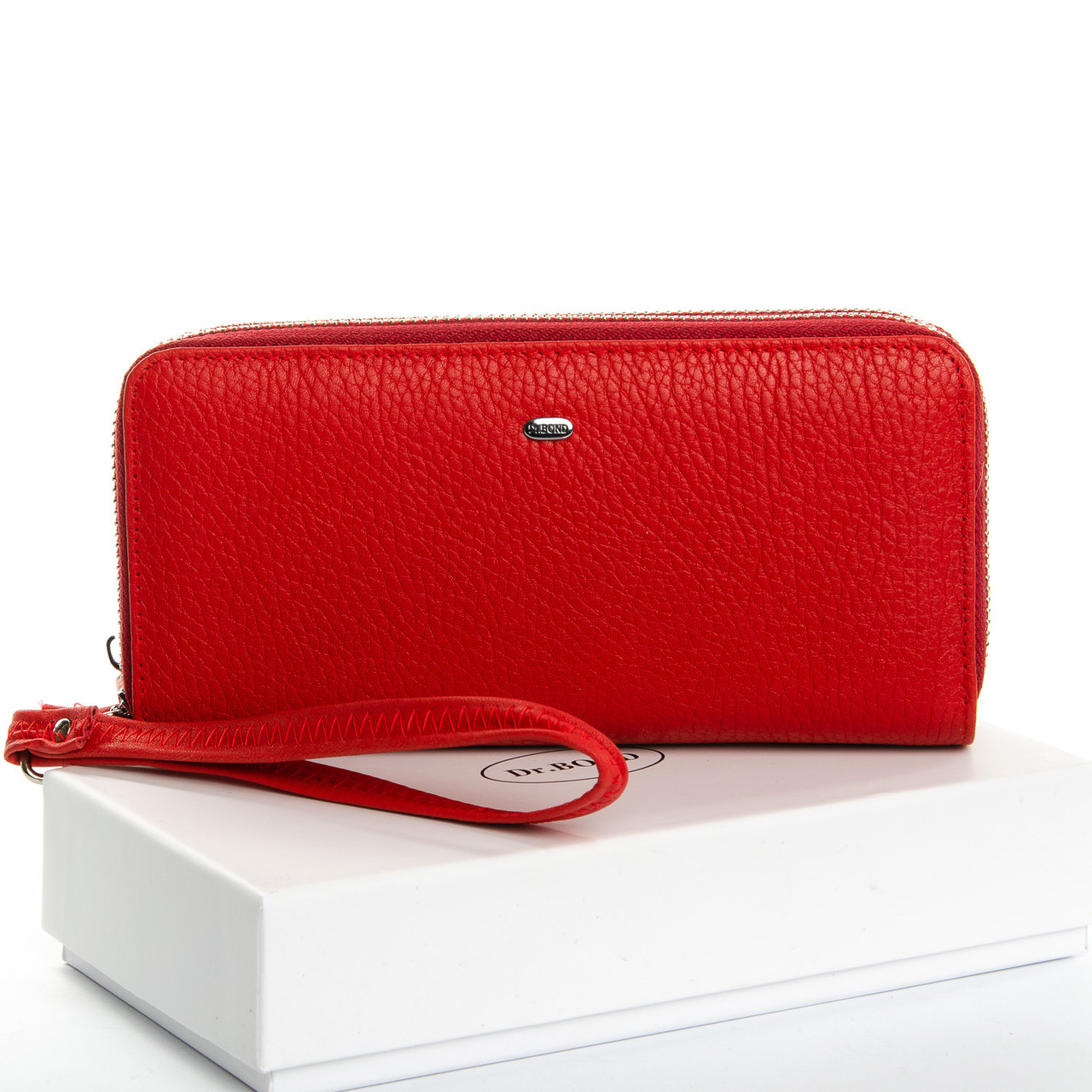 Великий гаманець клатч з натуральної шкіри DR. BOND різні кольори 3650