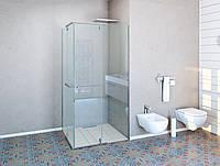 Душевые кабинки угловые квадратная 2000х1000х1000 мм. прозрачная Agnes Razio AG Duo