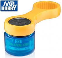 Мистер Крышечка. Инструмент для открывания баночек с краской. MR.HOBBY  GT56