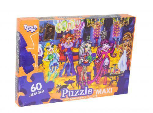 """Пазлы maxi """"Monster High"""" 60 эл Danko Toys Mx60-07-14 ( TC45785)"""