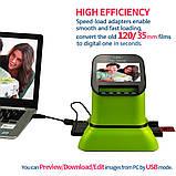 Cканер фотопленки QPIX DIGITAL FS210 для негативов и слайдов, фото 2