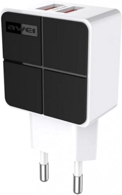 Адаптер сетевой Awei C-500 2 USB 2.4A