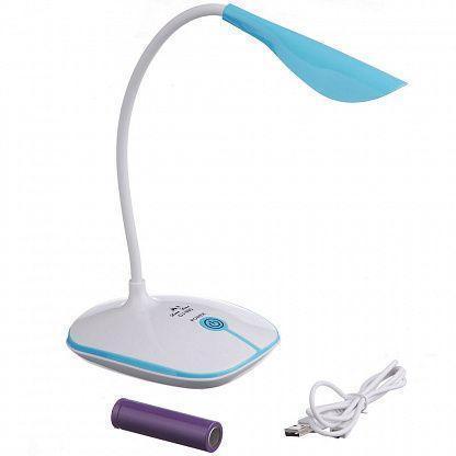 Лампа аккумуляторная светодиодная LED OJ-880, синяя