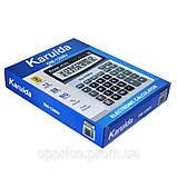 Калькулятор настольный бухгалтерский Karuida DM-1200V, фото 3