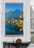 Обогреватель-картина инфракрасный настенный ТРИО 400W 100 х 57 см, горы, фото 4