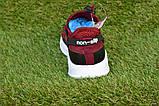 Детские кроссовки Nike Air бордовые р31-36, копия, фото 4