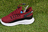Детские кроссовки Nike Air бордовые р31-36, копия, фото 7
