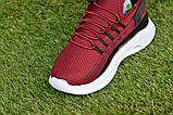 Детские кроссовки Nike Air бордовые р31-36, копия, фото 8