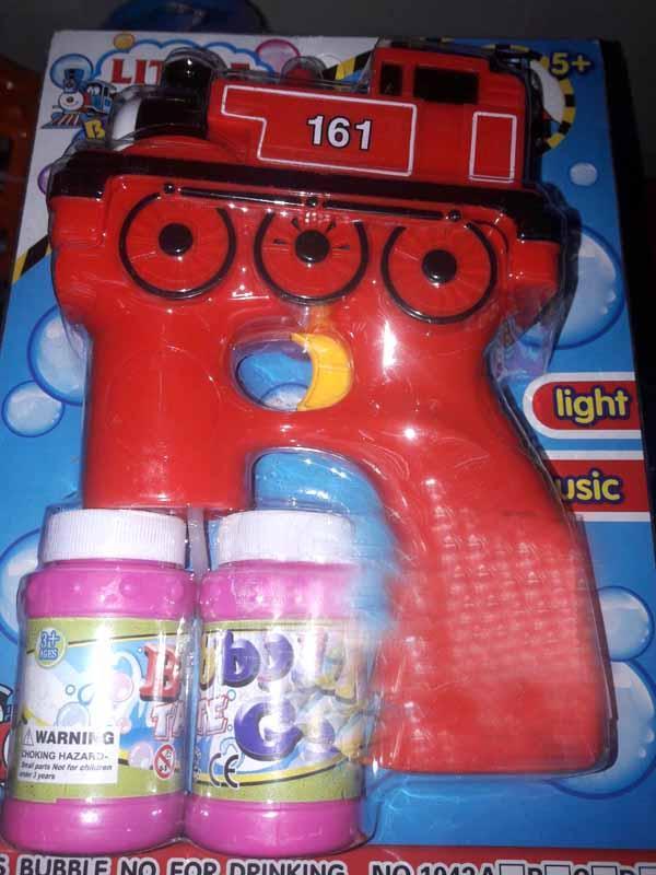 Мыльные пузыри 1042В пистолет, паровоз с запаской
