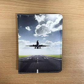 Обложка на паспорт v.2.0. Fisher Gifts 40 Самолет (эко-кожа)