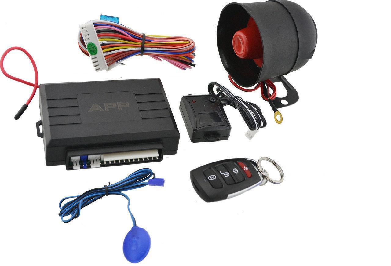 Автосигналізація Car Alarm 2 WAYKD 3000 APP5544 з сиреною