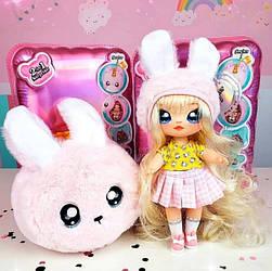 Поп-Хлоп Зайка - Aubrey Heart ( Кукла На На На Сюрприз Кролик Абри Харт, Na! Na! Na! Surprise )