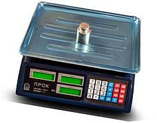 Весы торговые ПРОК ВТ-807Т (40 кг)