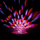 Диско шар в патрон LED UFO Bluetooth Crystal Magic Ball E27 0926, фото 9