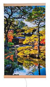 Обігрівач-картина інфрачервоний настінний ТРІО 400W 100 х 57 см, сад Кіото