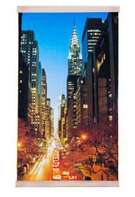 Обігрівач-картина інфрачервоний настінний ТРІО 400W 100 х 57 см, нічний Манхеттен