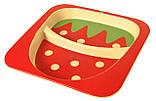 Набір дитячої бамбуковій посуду Stenson MH-2770-10 полуниця, 5 предметів, фото 3