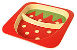 Набор детской бамбуковой посуды Stenson MH-2770-10 клубника, 5 предметов, фото 3