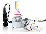 Комплект автомобильных LED ламп C6 в туманки 9005, фото 2